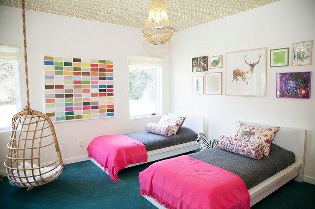 Σχέδια Παιδικού Δωμάτιου για δύο κορίτσια1