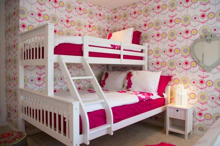 Σχέδια Παιδικού Δωμάτιου για δύο κορίτσια15