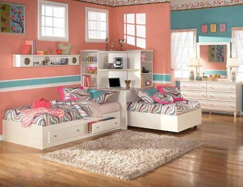 Σχέδια Παιδικού Δωμάτιου για δύο κορίτσια2