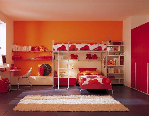 Σχέδια Παιδικού Δωμάτιου για δύο κορίτσια3