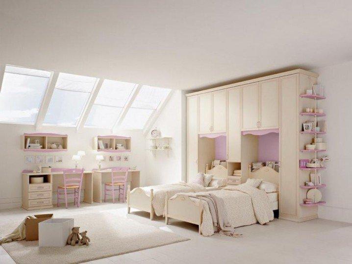 Σχέδια Παιδικού Δωμάτιου για δύο κορίτσια6