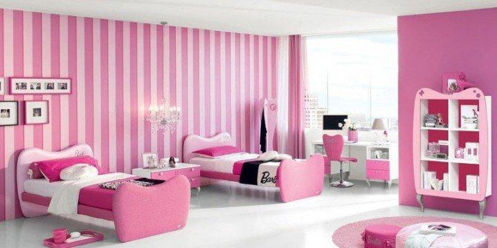 Σχέδια Παιδικού Δωμάτιου για δύο κορίτσια7