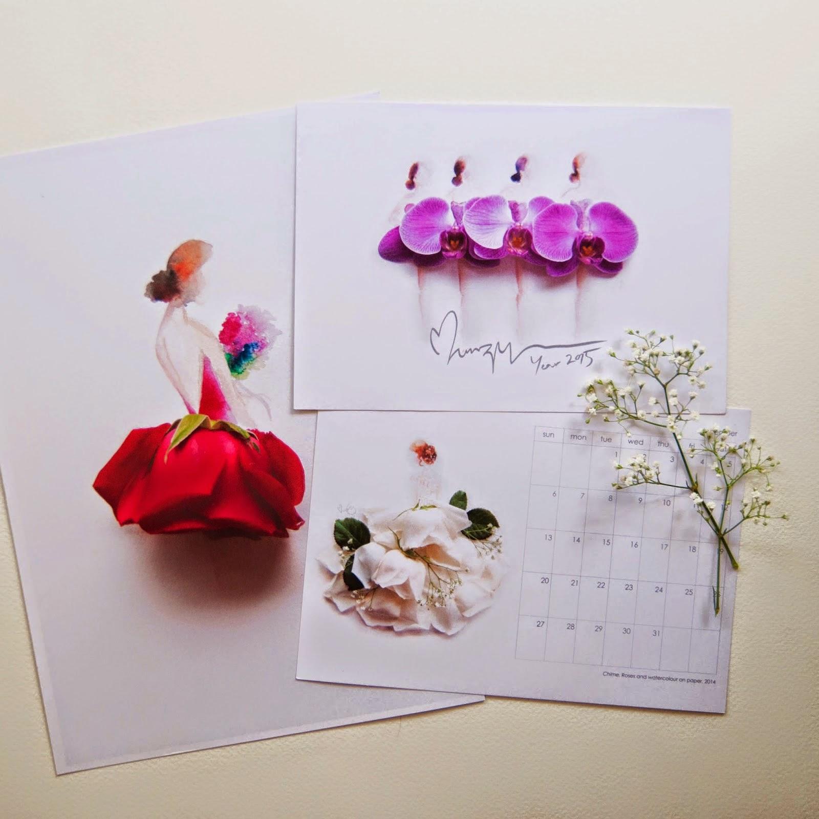 Υπέροχη τέχνη με λουλούδια1
