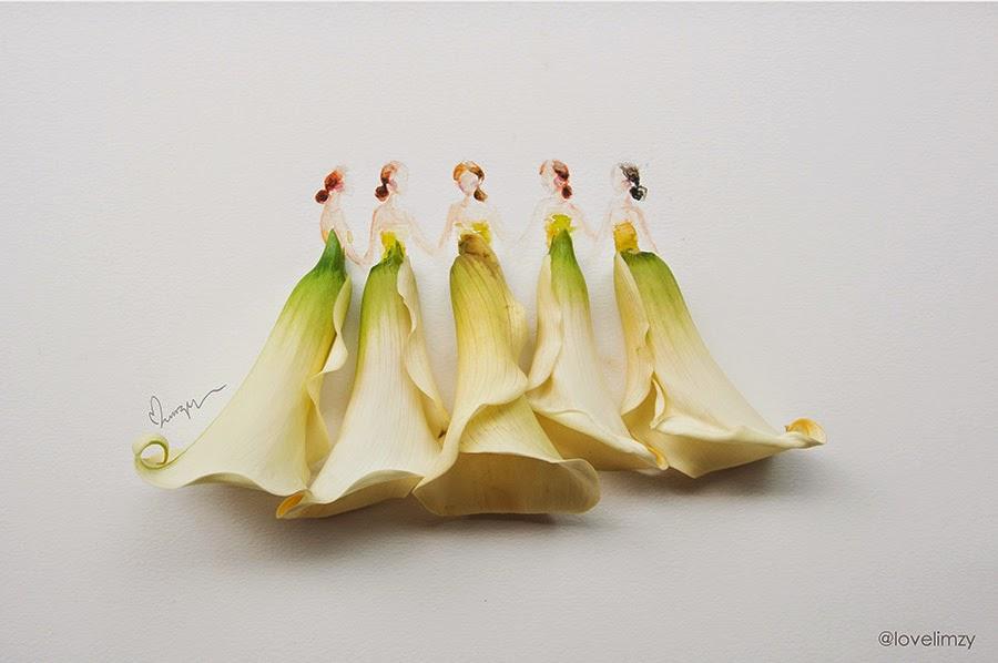 Υπέροχη τέχνη με λουλούδια10