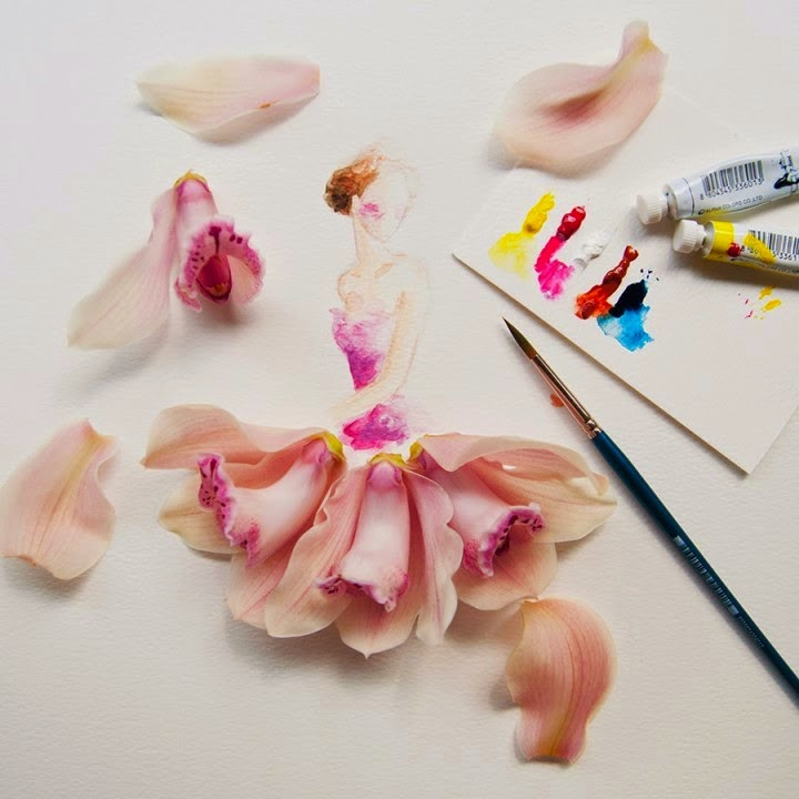 Υπέροχη τέχνη με λουλούδια11