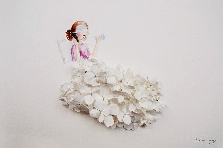 Υπέροχη τέχνη με λουλούδια13