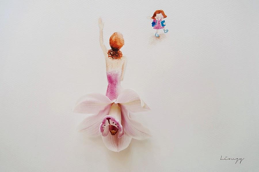Υπέροχη τέχνη με λουλούδια15