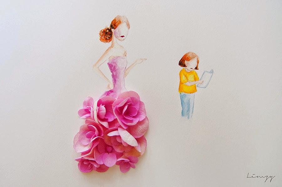Υπέροχη τέχνη με λουλούδια16