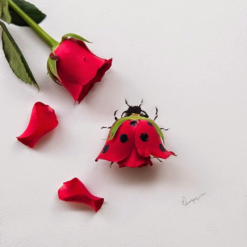Υπέροχη τέχνη με λουλούδια18