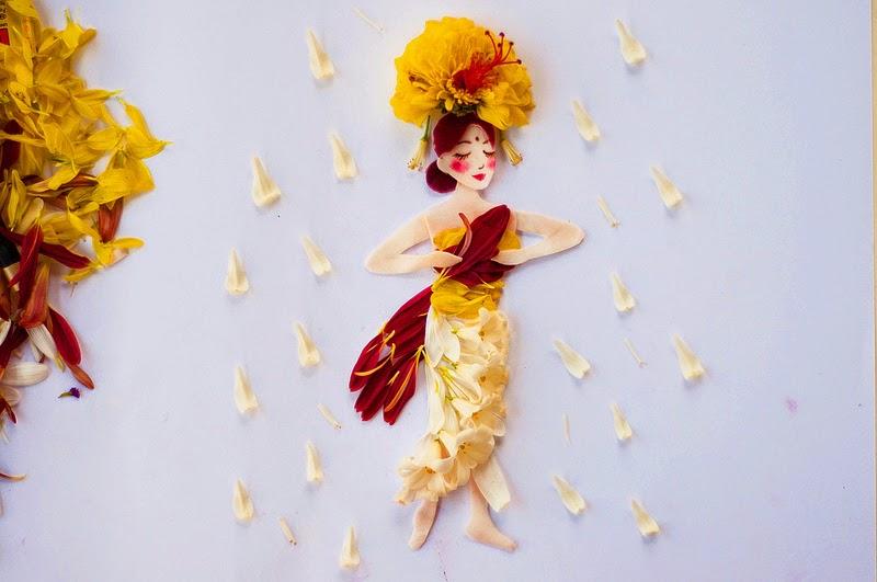 Υπέροχη τέχνη με λουλούδια2