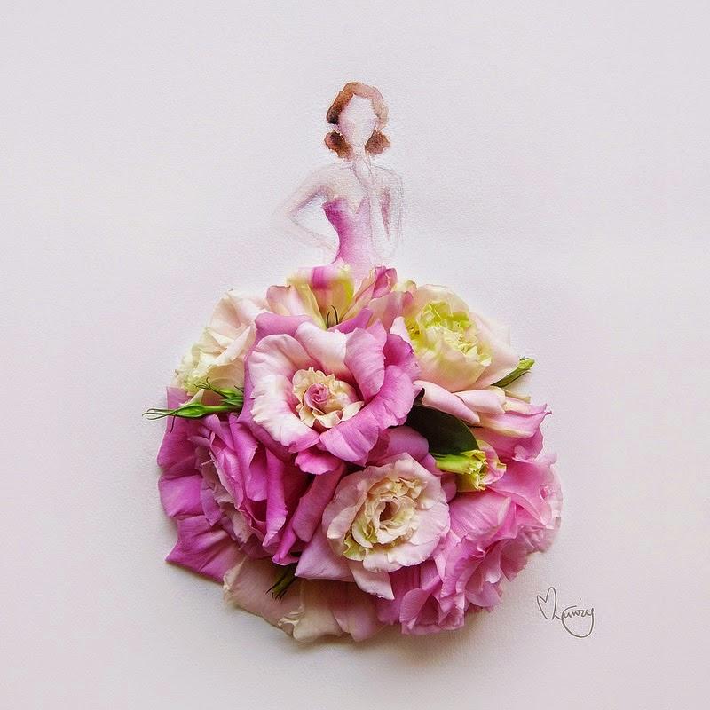 Υπέροχη τέχνη με λουλούδια3