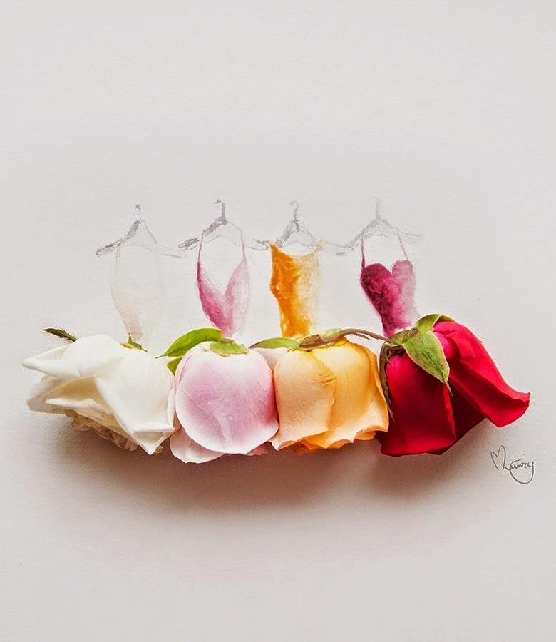Υπέροχη τέχνη με λουλούδια5