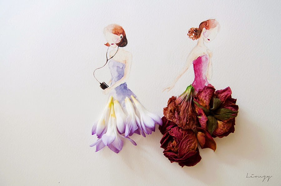 Υπέροχη τέχνη με λουλούδια6