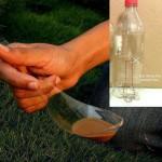 DIY κουτάλι έκτακτης ανάνγης από πλαστικό μπουκάλι