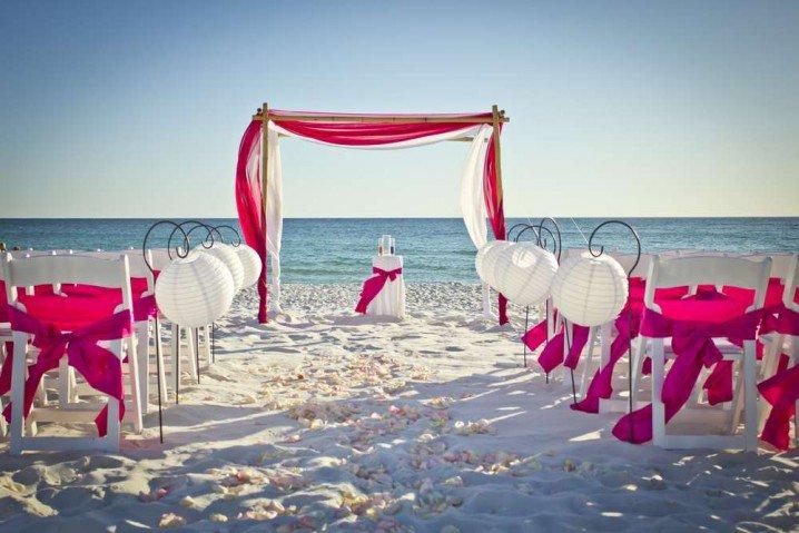 Ιδέες για Διακόσμηση Γάμου σε Παραλία15