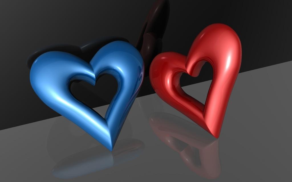 Πολύχρωμες 3d Ταπετσαρίες Αγάπης2
