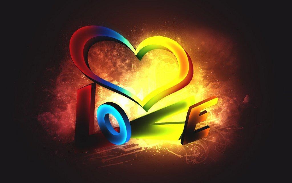 Πολύχρωμες 3d Ταπετσαρίες Αγάπης3