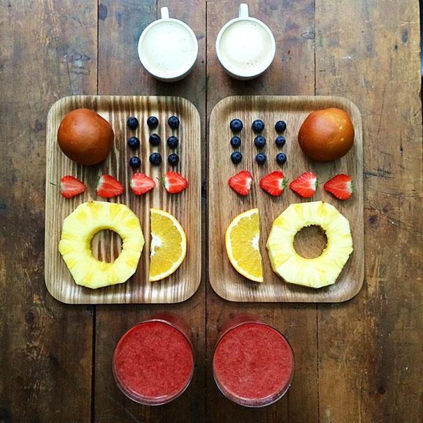 Φράουλες και λεμονάκι