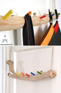 Diy κρεμάστρα με μολύβια3