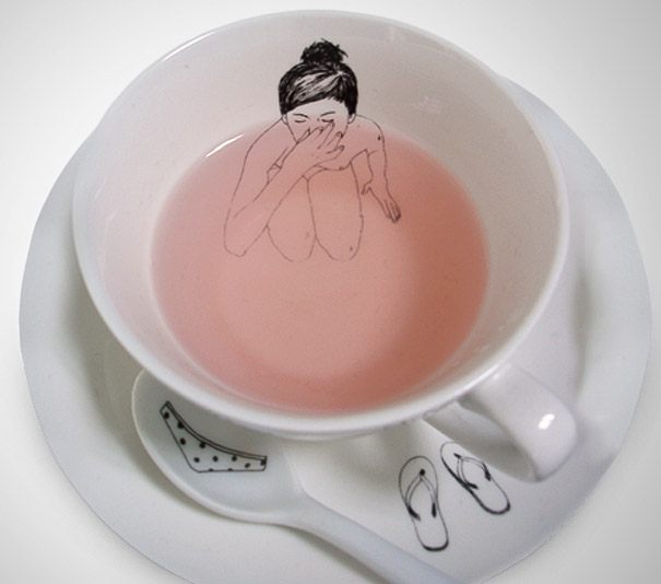 Βουτιά στο τσάϊ