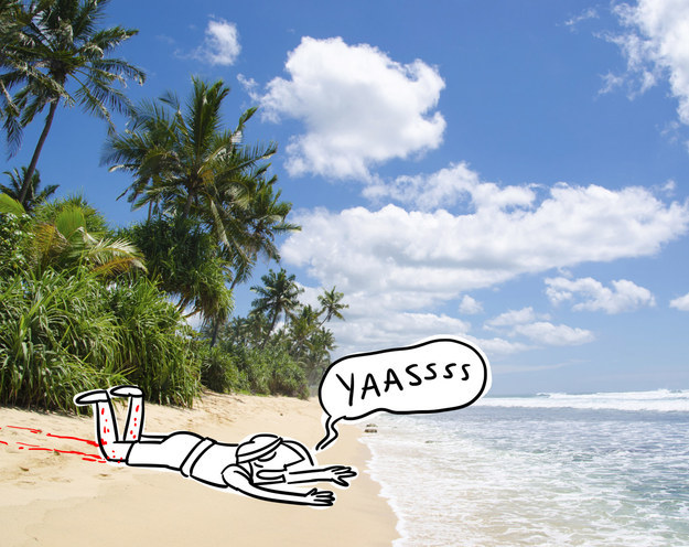 Επιτέλους η παραλία