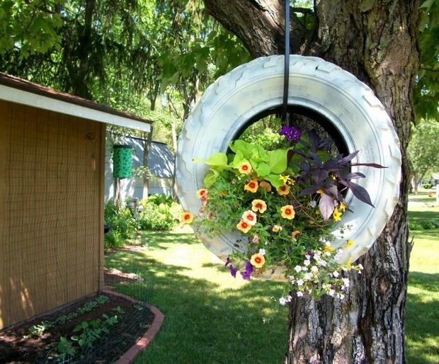 DIY διακοσμητικά κήπου6