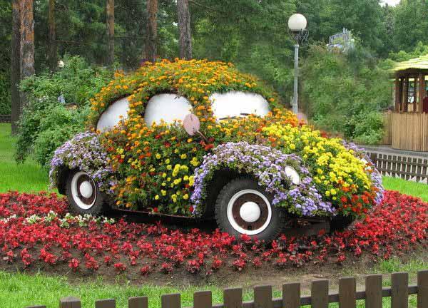 DIY διακοσμητικά κήπου7