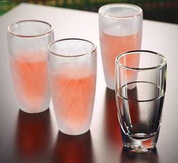 Παγωμένα ποτήρια