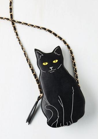 cat cross-body bag