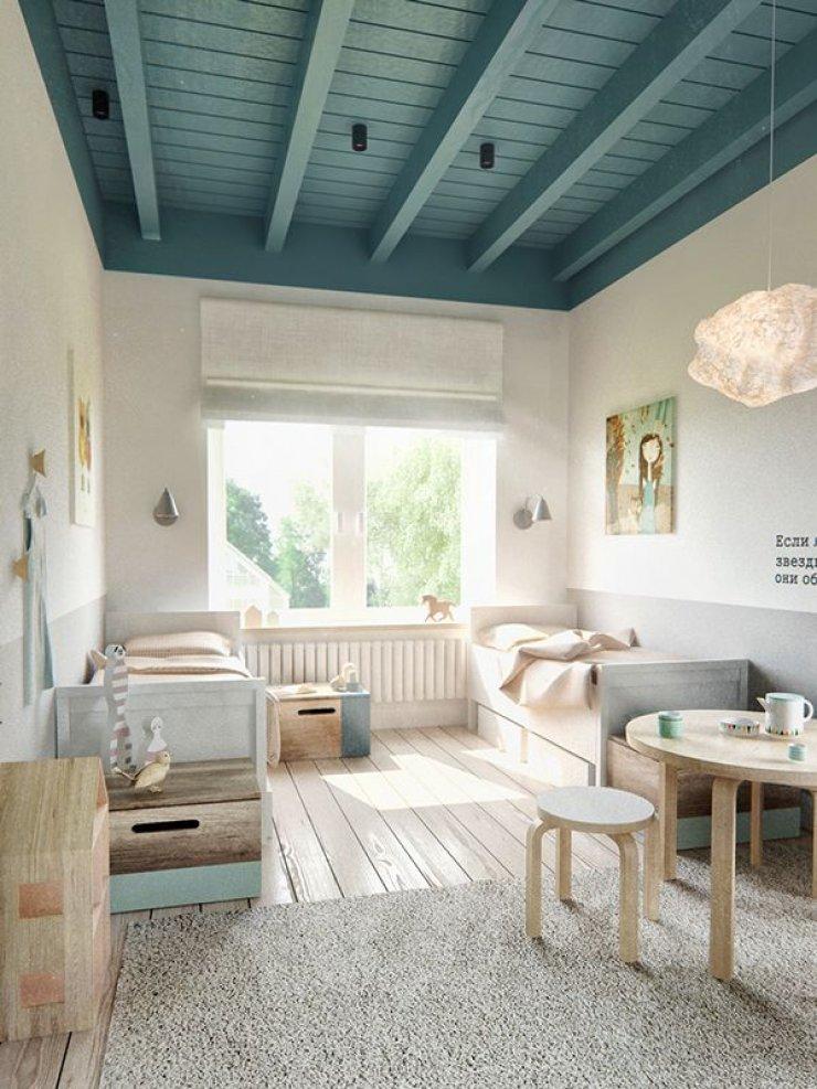 Υπέροχες ιδέες με απλά, απαλά και φυσικά παιδικά δωμάτια1