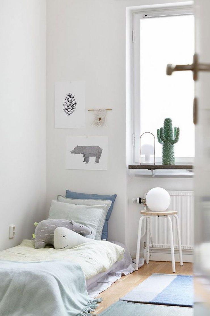 Υπέροχες ιδέες με απλά, απαλά και φυσικά παιδικά δωμάτια2