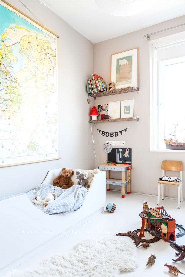 Υπέροχες ιδέες με απλά, απαλά και φυσικά παιδικά δωμάτια5