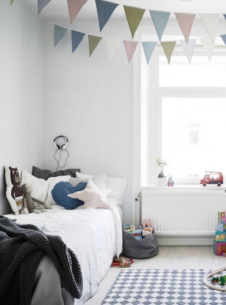 Υπέροχες ιδέες με απλά, απαλά και φυσικά παιδικά δωμάτια6