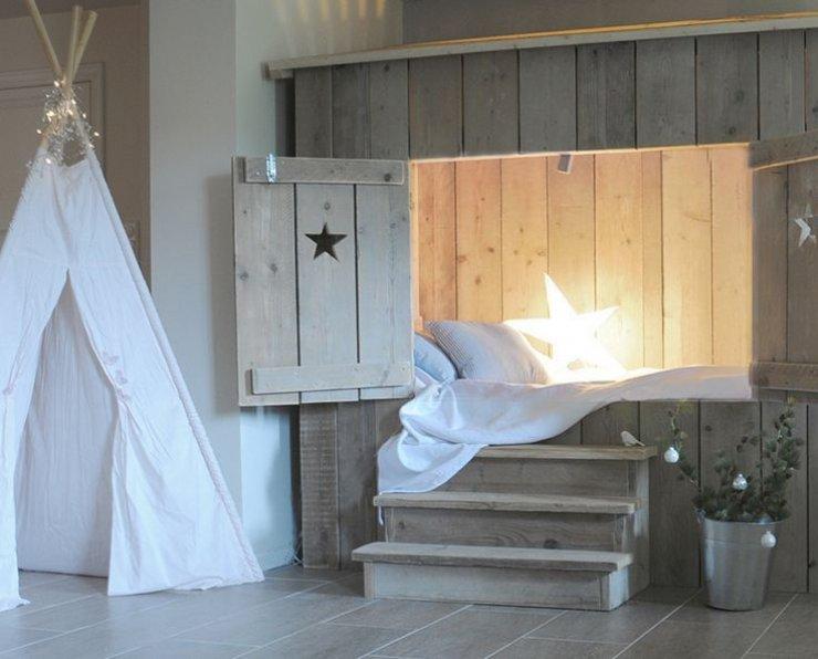 Υπέροχες ιδέες με απλά, απαλά και φυσικά παιδικά δωμάτια8
