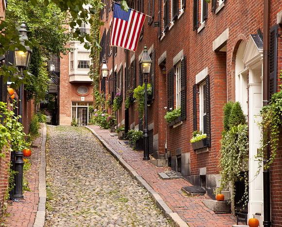 Acorn Street, Βοστώνη