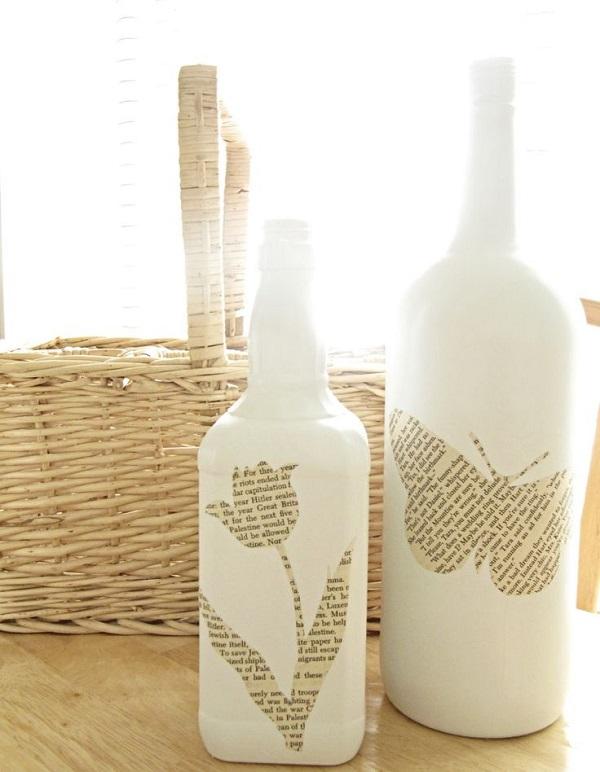 Διακοσμήστε γυάλινα μπουκάλια και βάζα με στυλ19