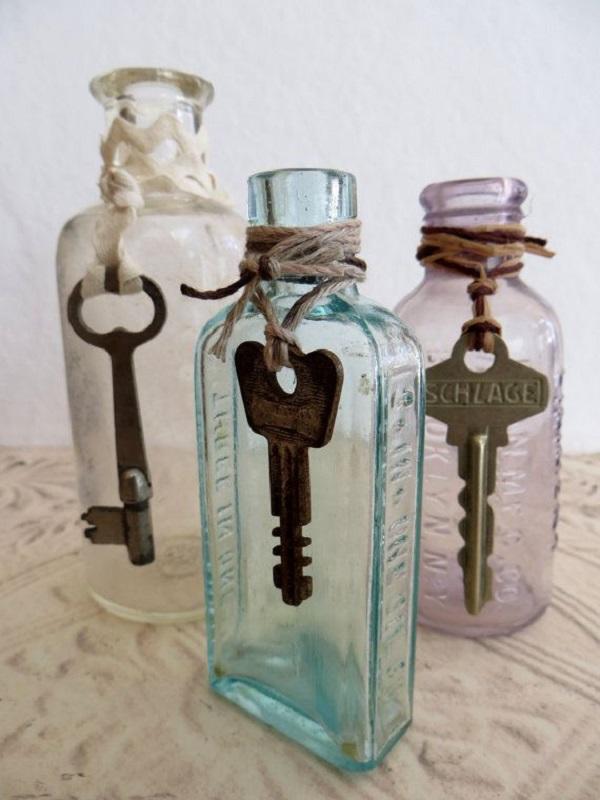 Διακοσμήστε γυάλινα μπουκάλια και βάζα με στυλ9