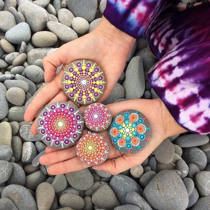 ιδέες τέχνης με πέτρες και βότσαλα1