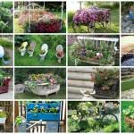 Απίθανες γλάστρες Κήπου