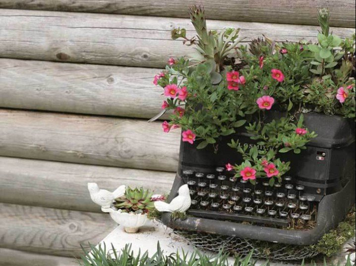 Απίθανες γλάστρες Κήπου10
