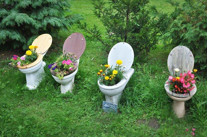Απίθανες γλάστρες Κήπου15