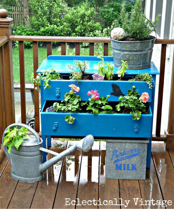 Απίθανες γλάστρες Κήπου4
