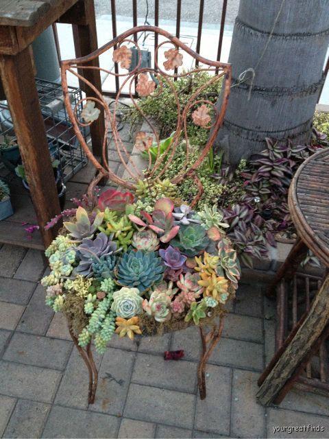 Απίθανες γλάστρες Κήπου8