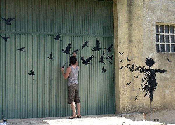 Καταπληκτική Street Art8