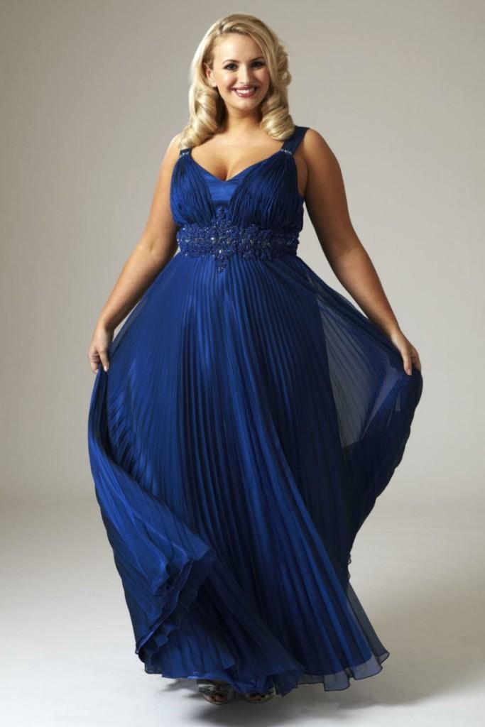 Φορέματα σε μεγάλα μεγέθη - μόδα για γυναίκες με καμπύλες11