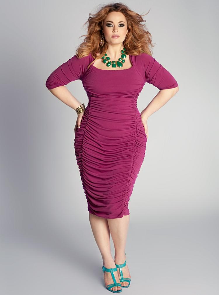 Φορέματα σε μεγάλα μεγέθη - μόδα για γυναίκες με καμπύλες12