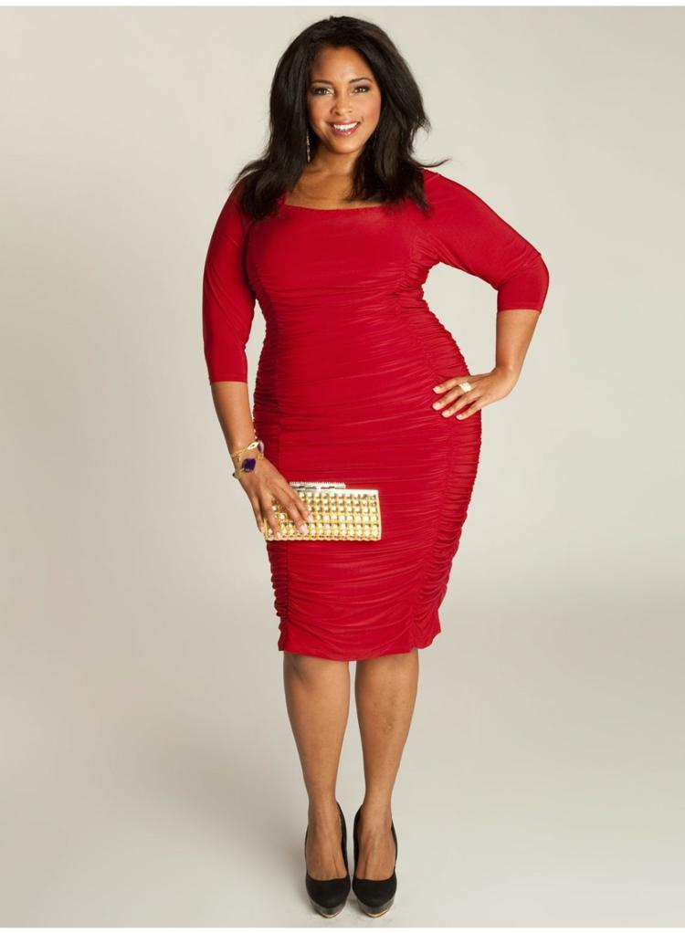 Φορέματα σε μεγάλα μεγέθη - μόδα για γυναίκες με καμπύλες13