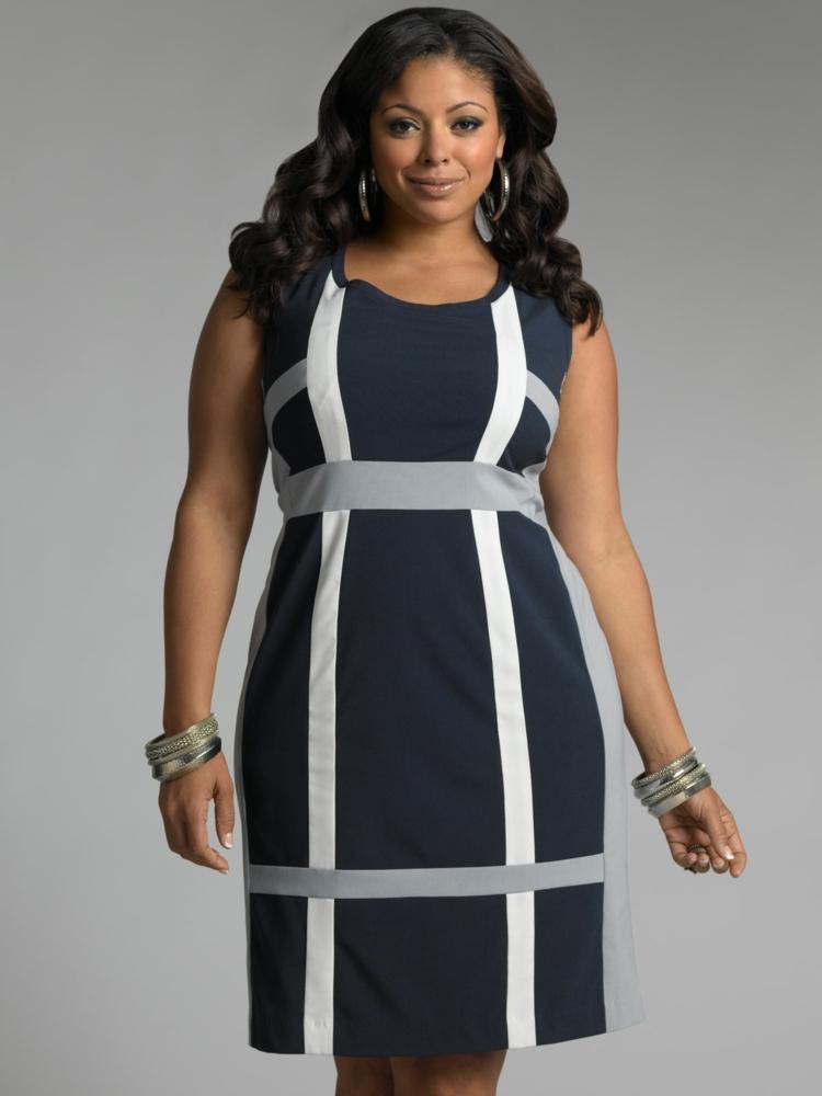 Φορέματα σε μεγάλα μεγέθη - μόδα για γυναίκες με καμπύλες15
