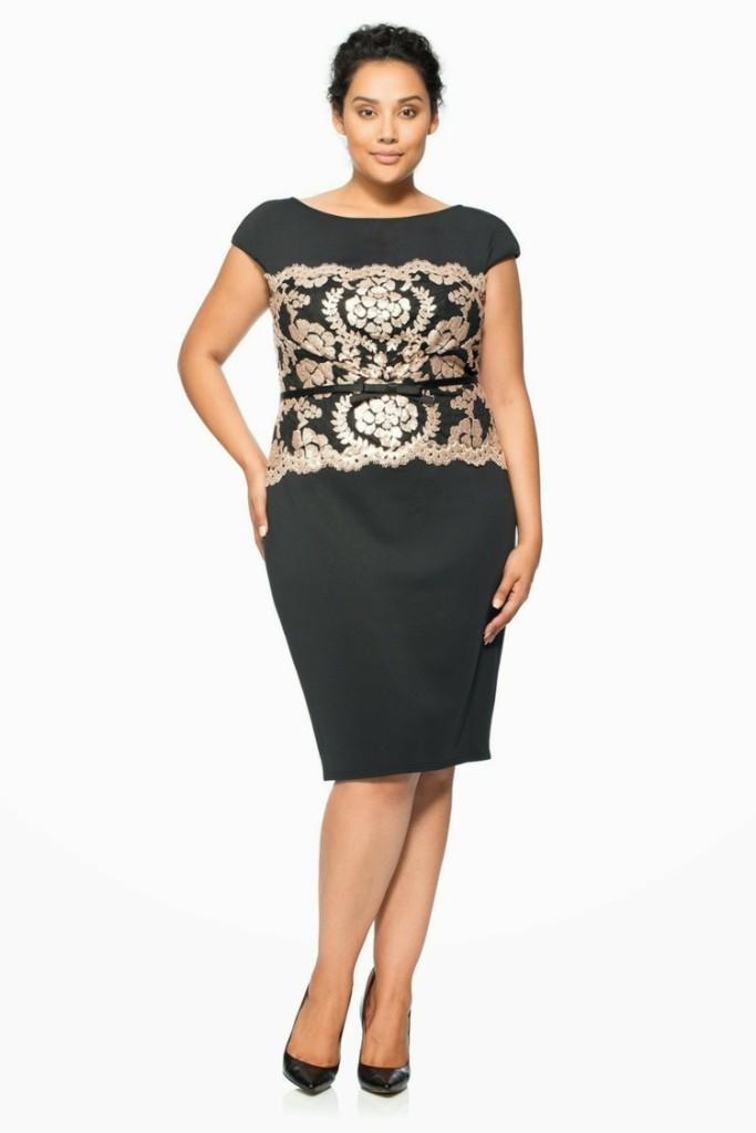 Φορέματα σε μεγάλα μεγέθη - μόδα για γυναίκες με καμπύλες17