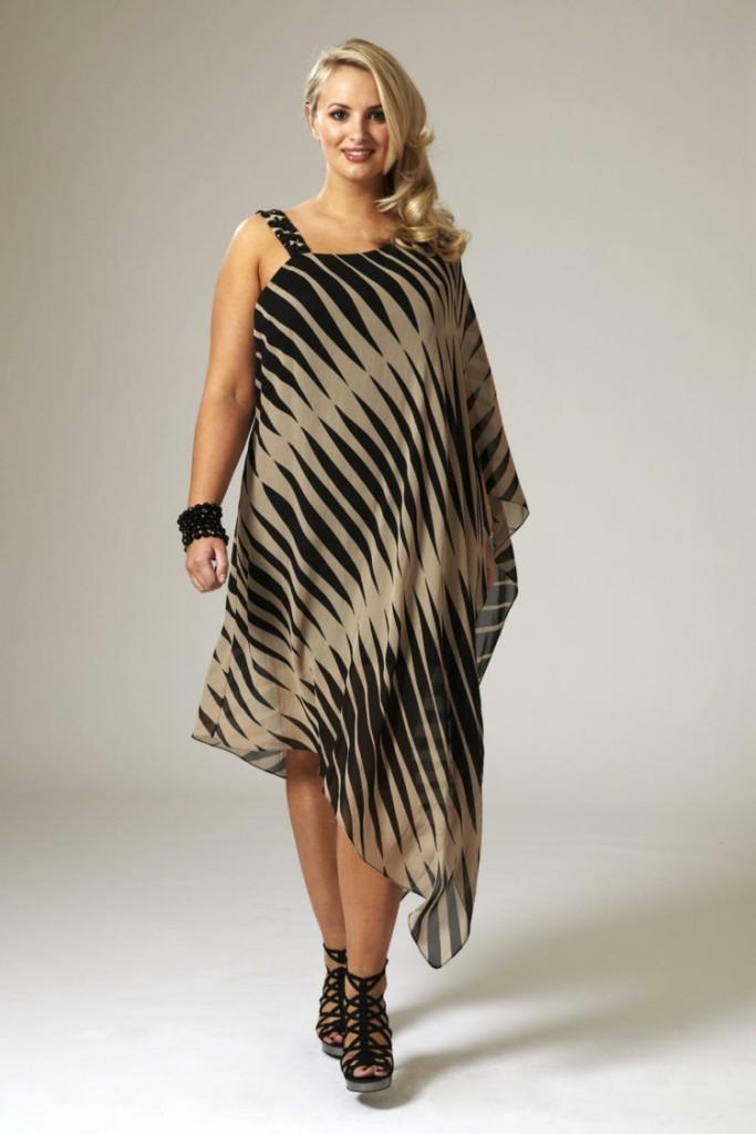 Φορέματα σε μεγάλα μεγέθη - μόδα για γυναίκες με καμπύλες22
